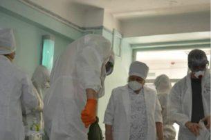 Еще 42 медика Кыргызстана заразились коронавирусом