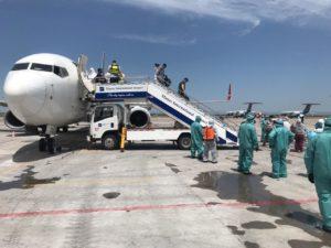 Уточнение: Международные авиарейсы планируется возобновить только после решения правительства