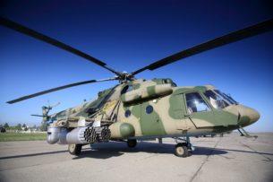 Два вертолёта поступят на вооружение российской военной базы в Кыргызстане