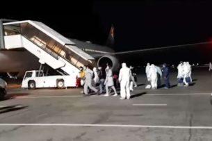 В Бишкек из Кореи вернулись граждане Кыргызстана