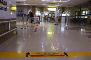 Как «Международный аэропорт «Манас» обслуживает регулярные внутренние рейсы