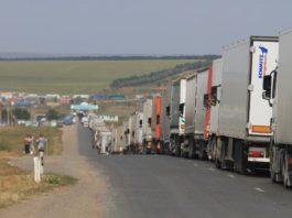 Министерство финансов Казахстана прокомментировало очереди большегрузных авто на границе с Кыргызстаном