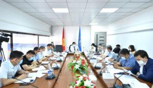 Республиканский штаб: На рынках Бишкека наблюдается высокий риск инфицирования коронавирусной инфекцией