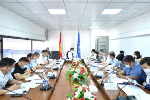 Республиканский штаб: На рынках Бишкека наблюдается высокий риск заражения коронавирусом