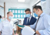 Алмазбек Баатырбеков проверил КПП «Актилек Автодорожный» по реализации алгоритма проверок грузоперевозчиков на коронавирус