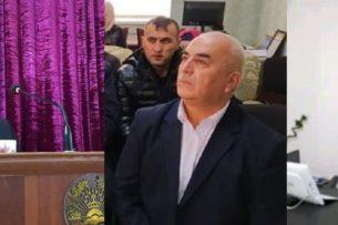 Изумленная публика наблюдала за дракой между высокопоставленными чиновниками на севере Таджикистана