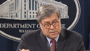 Генпрокурор США Уильям Барр