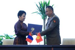 Ратифицировано Соглашение между правительствами Кыргызстана и Монголии о сотрудничестве в военной сфере