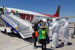 В Бишкек из Кореи и Вьетнама вернулись граждане Кыргызстана