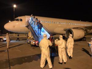 В Бишкек из Пакистана вернулись 100 граждан КР