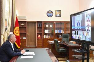 Кубатбек Боронов: Запас медицинских препаратов в регионах будет увеличен