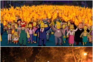 «Симпсоны» предсказали буйные протесты в США, решили зрители. Но в этот раз люди ошиблись, и вот почему