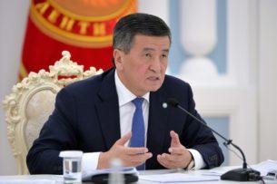 Еще рано расслабляться: Сооронбай Жээнбеков призвал руководителей регионов активизировать усилия по борьбе с коронавирусной инфекцией