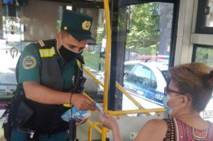 В Ташкенте сотрудники ОВД будут бесплатно раздавать населению маски