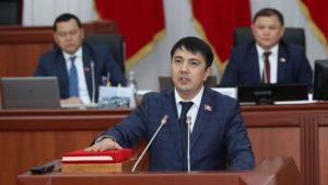 """Марлен Маматалиев: В истории я останусь как депутат, который проголосовал """"за"""""""