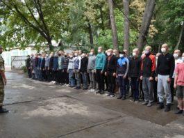 В военной службе внутренней безопасности МВД Кыргызстана начат прием молодого пополнения