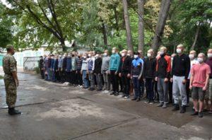 В военной службе внутренней безопасности МВД Кыргызстана начался весенний призыв