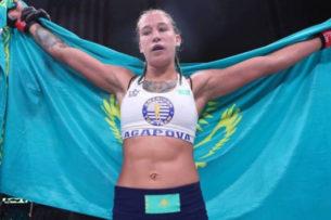 Первая в истории UFC казахстанка получила новую соперницу на дебютный бой