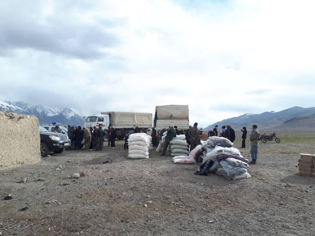 МЧС Кыргызстана была оказана помощь этническим кыргызам в Таджикистане и Афганистане