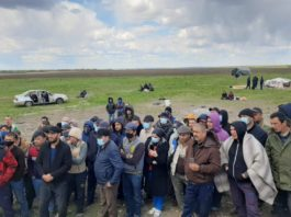 На российско-казахстанской границе конфликт с  участием узбекских и таджикских мигрантов
