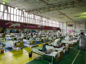 Стационары мэрии приняли почти 3500 горожан