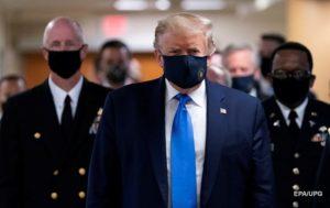 Трамп против обязательного ношения масок