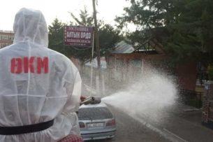 Республиканский штаб отчитался о дезинфекции и других мероприятиях по борьбе с коронавирусом