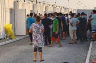 В самой большой карантинной зоне Узбекистана произошел бунт