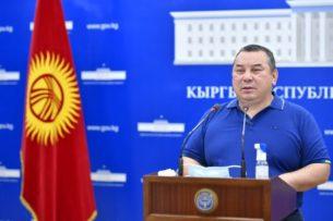 Нариман Тюлеев назвал хорошим вариантом назначение Балбака Тулобаева и.о. мэра Бишкека