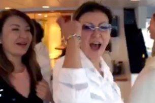 Кто слил видео с танцующей Даригой Назарбаевой?