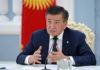 Президент раскритиковал правительство Кыргызстана за допущение паники среди населения