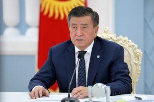 Пресс-служба президента объяснила причину удаления видеообращения Жээнбекова