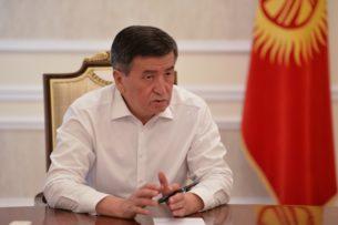 Жээнбеков: 30 июля будет объявлен Днем национального траура по всей стране