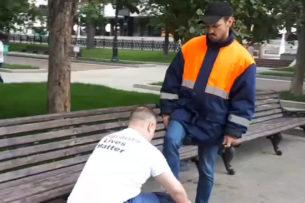Москвич призвал россиян преклонить колени перед мигрантами