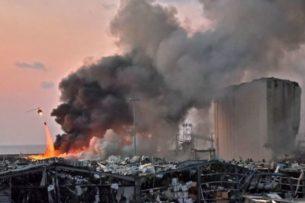 Ученые установили причину взрыва в Бейруте по социальным сетям