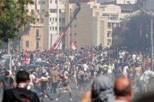 Протесты из-за взрыва в Бейруте: демонстранты ворвались в МИД Ливана — Би-би-си