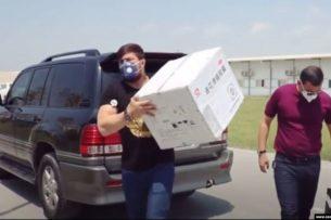 Зять Мирзиёева раздает больным коронавирусом незарегистрированный в Узбекистане китайский препарат
