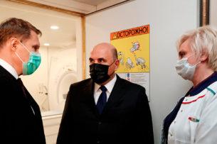 Премьер-министру России запретили входить в кабинет МРТ с криками «Нельзя!»