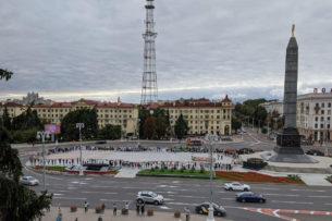 Протесты в Беларуси: Цепи солидарности, уход журналистов с гостелеканалов, разброд среди силовиков
