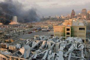 Взрыв в Бейруте. Премьер-министр Ливана назвал причину