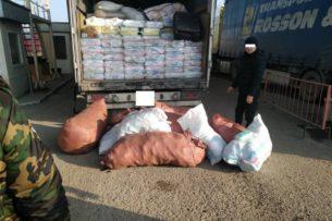 С июля пограничники Кыргызстана пресекли попытки вывоза медицинских товаров на сумму более 46,3 млн сомов