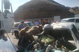 В Джалал-Абадской области в результате ДТП погибли 8 человек