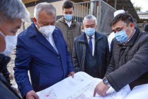 Cтроительство новой инфекционной больницы в Бишкеке отстает от графика. Премьер недоволен
