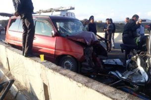 В Нарынской области произошло смертельное ДТП
