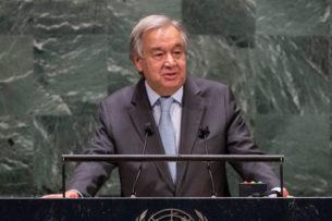 Глава ООН: после пандемии мир не может вернуться к прежнему мировому порядку, выгодному лишь немногим