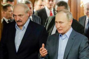 Лукашенко заявил Путину, что по выходным освобождает часть Минска для протестующих