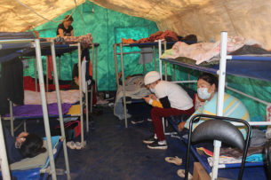 Первая группа из застрявших в Башкирии кыргызстанцев отправлена на родину