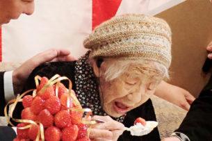 Самая пожилая жительница планеты достигла рекорда долголетия