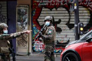 У здания бывшей редакции Charlie Hebdo в Париже ранены четыре человека