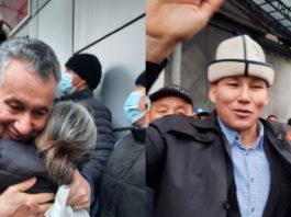 Фарид Ниязов, Канат Сагымбаев и другие политзаключенные вышли на свободу